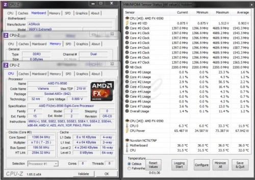 Ecco i Benchmark per la CPU AMD FX 9590