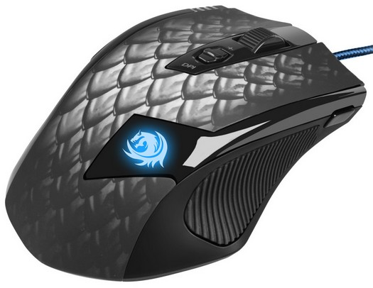 Sharkoon Drakonia Black: mouse da gioco da 8200 DPI!