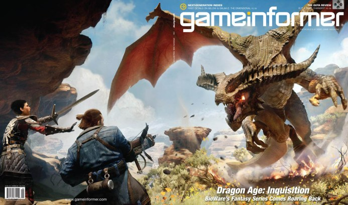 Dragon Age: Inquisition sulla copertina di Game Informer