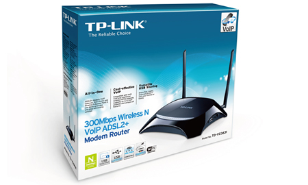 TP-LINK presenta il primo All-In-One con tecnologia VoIP