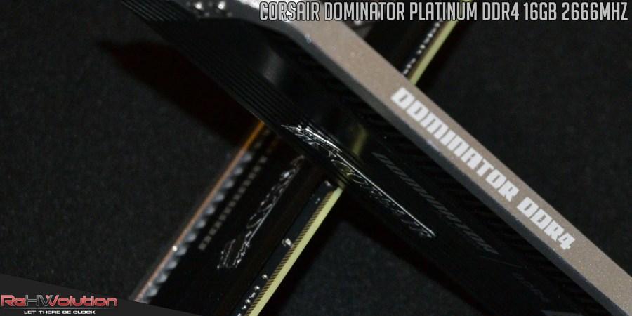 Corsair Dominator Platinum DDR4 16 GB 2666 MHz | Recensione