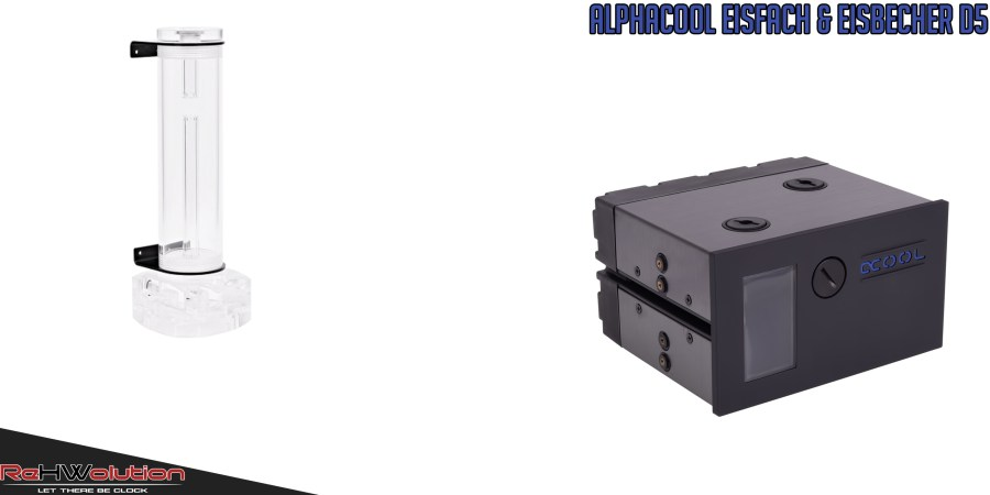 Alphacool Eisbecher 250 mm Single D5 Plexi & Eisfach Single D5 | Recensione in anteprima