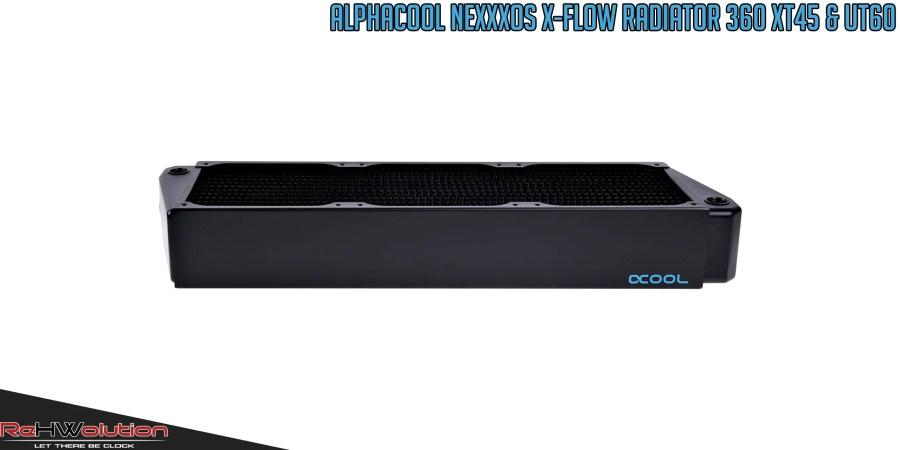 Alphacool NexXxos X-Flow 360 mm XT45 & UT60 | Recensione