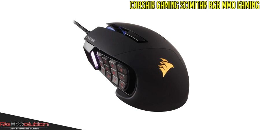 Corsair Gaming Scimitar RGB MMO Mouse | Recensione