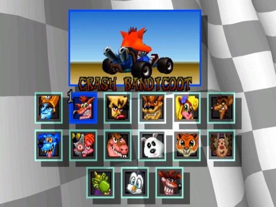 Uno sguardo al passato: Crash Team Racing