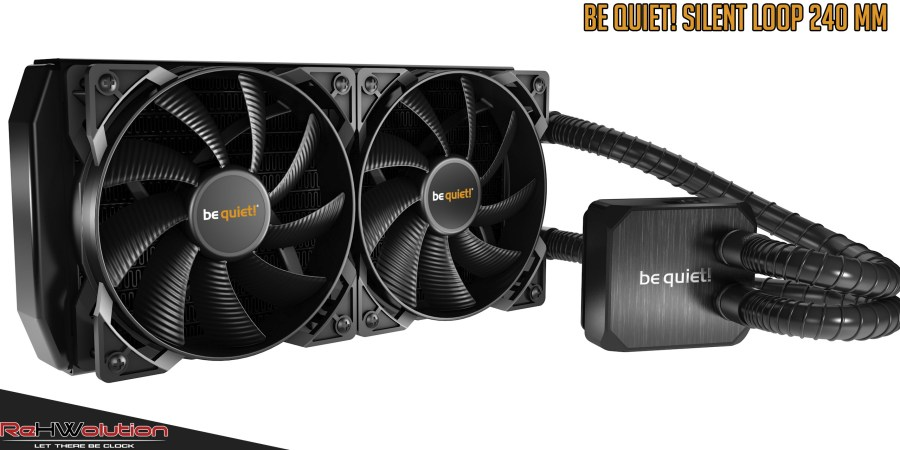 Be Quiet! Silent Loop 240 mm AIO Liquid Cooler
