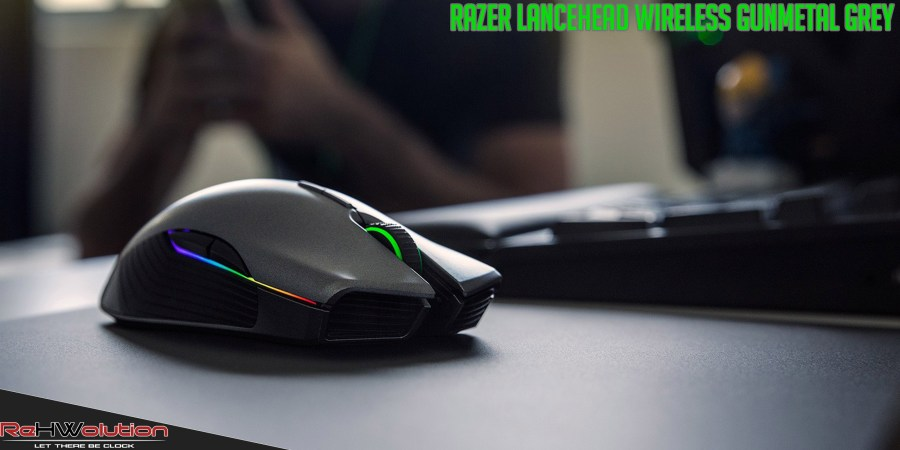 Razer Lancehead Wireless Gunmetal Grey