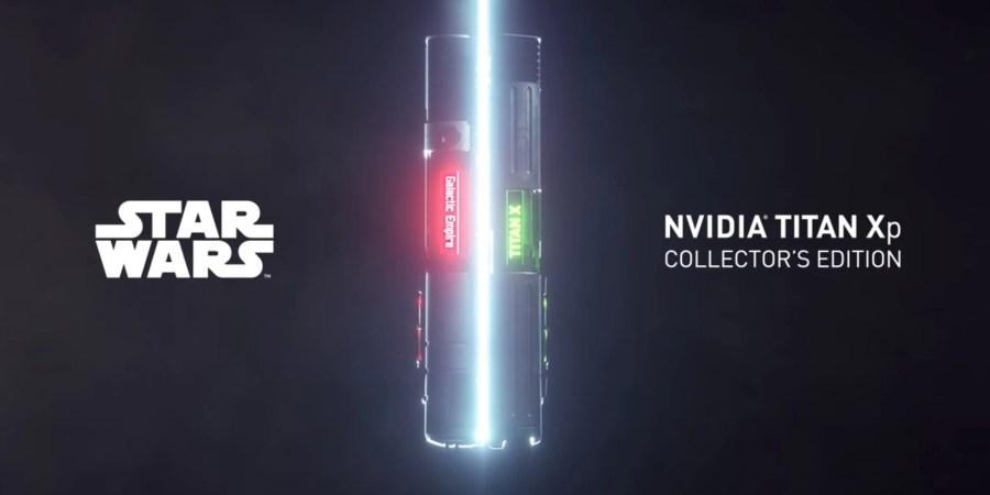 Presentata la Titan Xp Star Wars Edition, la GPU dedicata ai fan di Guerre Stellari