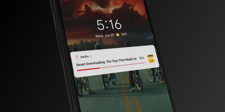 Netflix presenta Smart Downloads, la nuova feature intelligente dedicata ai downloads