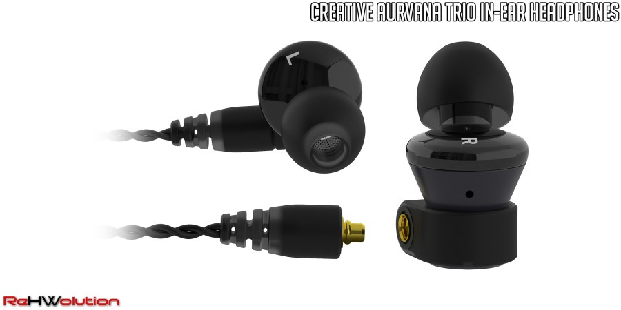 Creative Aurvana Trio Hi-Res 3-Driver In-Ears