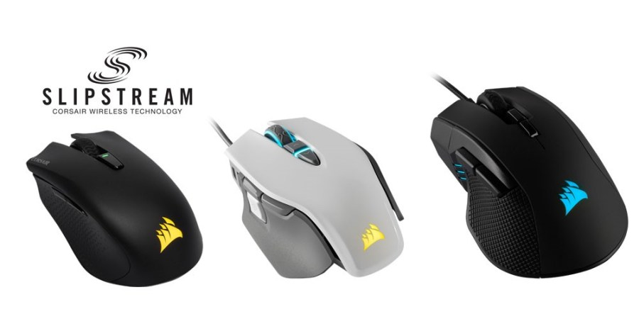 CORSAIR Launches Three New Gaming Mice