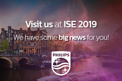 I nuovi monitor Philips in mostra a ISE 2019
