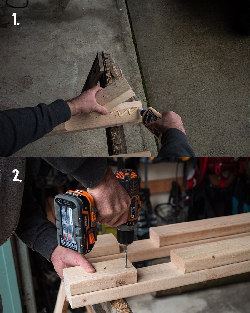how to build a ski and snowboard rack