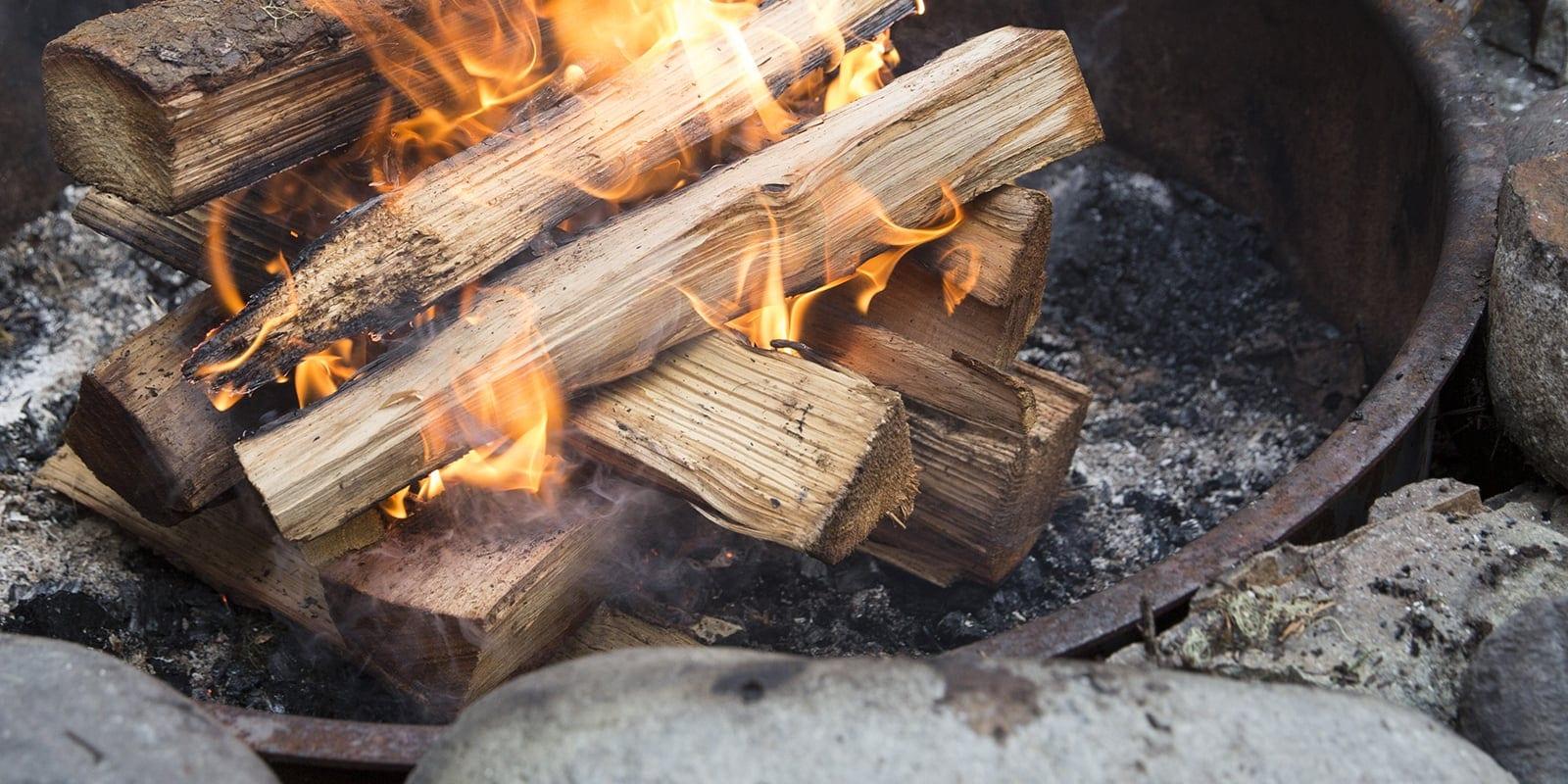 bagaimana membuat api unggun