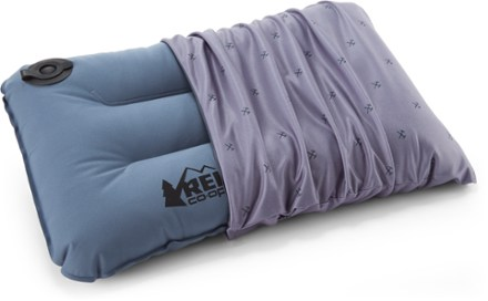 camp dreamer self inflating pillow