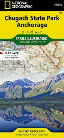 Trails Illustrated Chugach State Park Anchorage