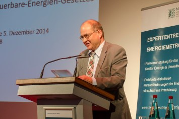 Arnold Vaatz, Bundestagsabgeordneter und stellv. Vorsitzender der CDU/CSU-Bundestagsfraktion referierte über Energiepolitik in Deutschland