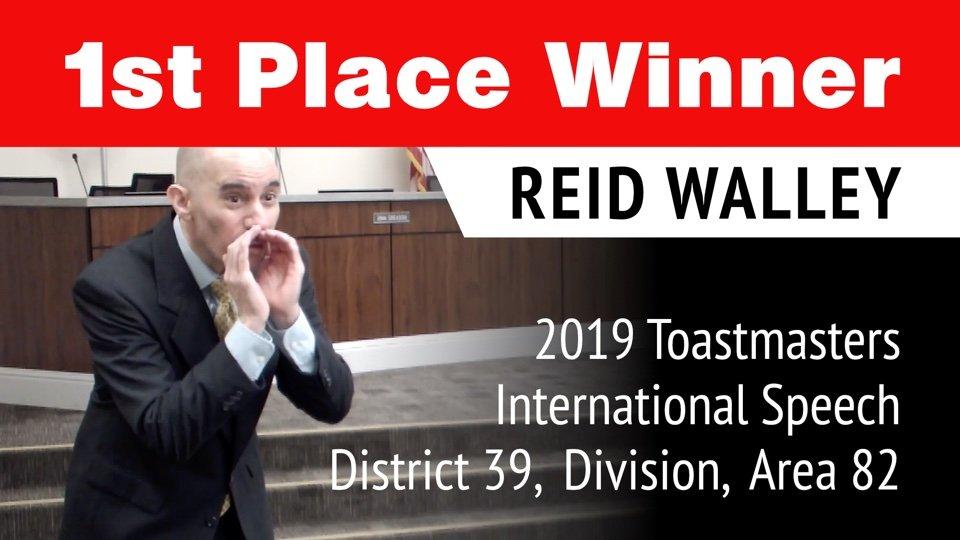 Toastmasters 2019 International Speech Area 82