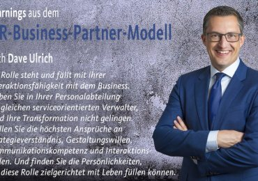 Learnings aus dem HR-Business-Partner-Modell nach Dave Ulrich