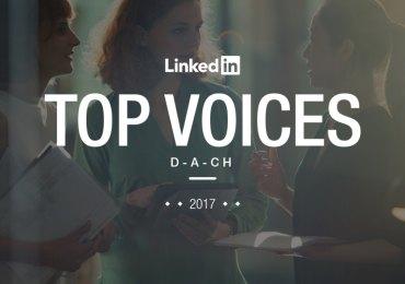 Einer der Top 25 Linkedin-Autoren 2017