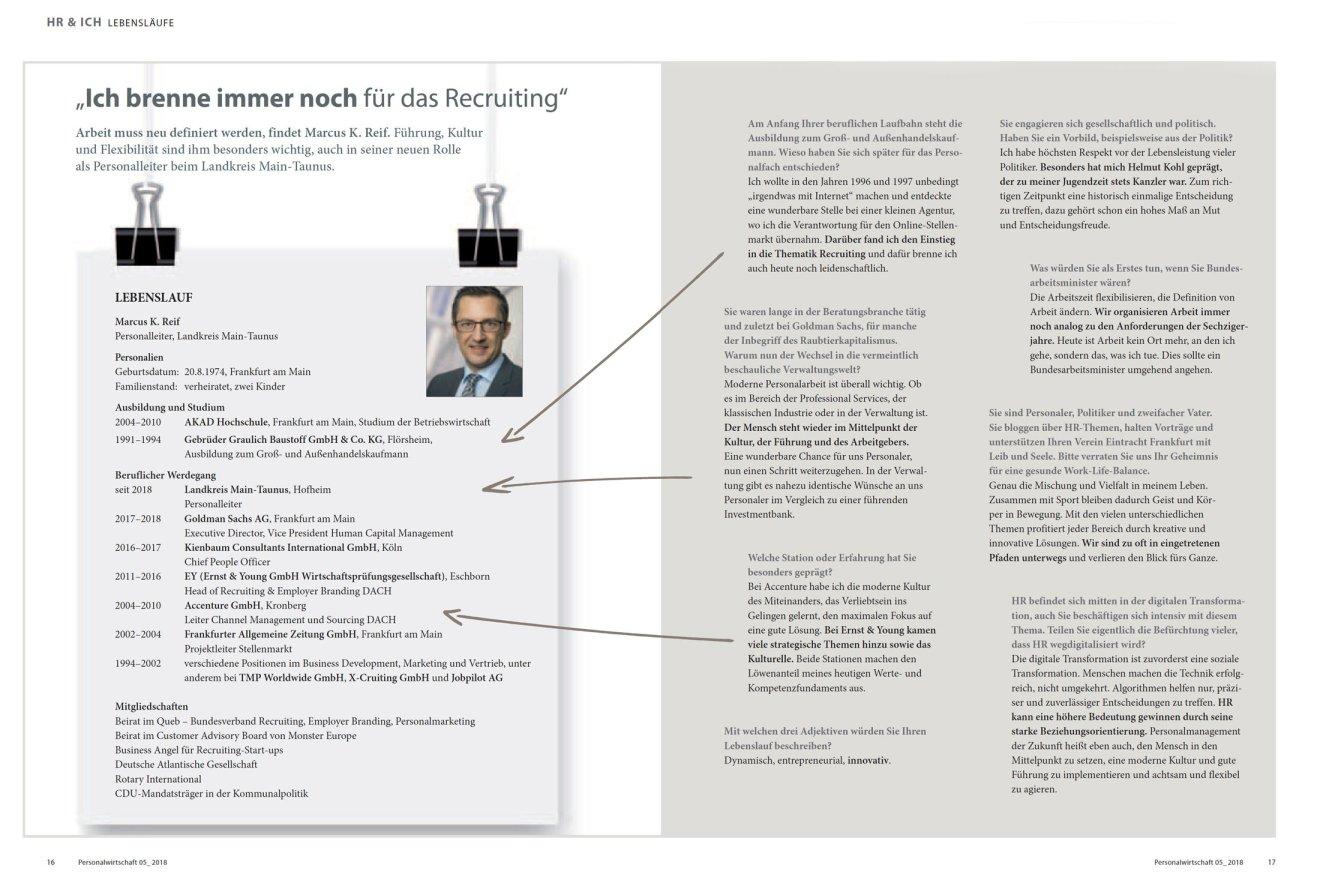 """Interview Personalwirtschaft: """"Ich brenne immer noch für das Recruiting"""""""