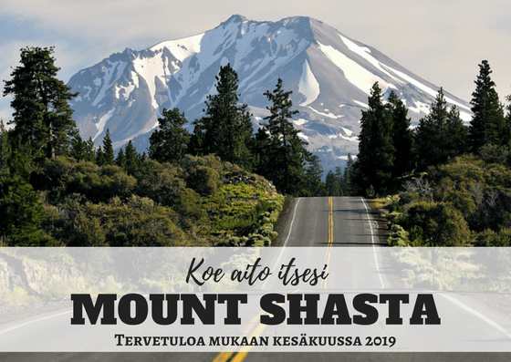 Mount Shasta matka tuotekuva