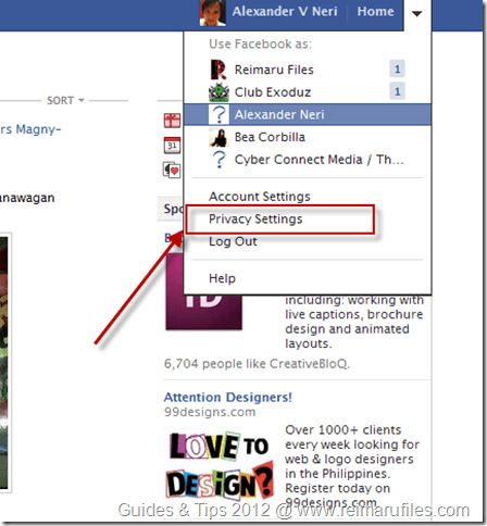 Remove App Access to Your Facebook profile tutorial image 1