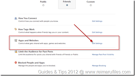 Remove App Access to Your Facebook profile tutorial image  2