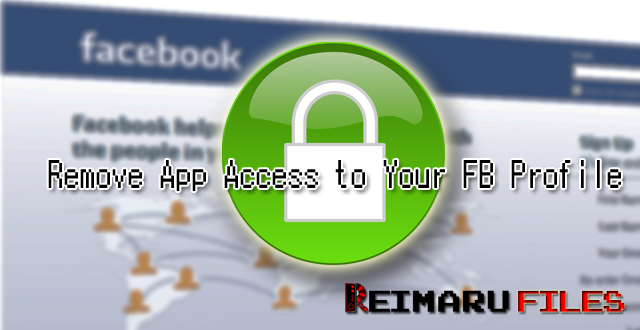 Remove App Access to Your FB Profile [Facebook Privacy]
