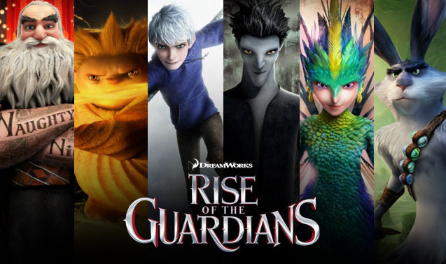 Childhood legends relived in 'Rise of the Guardians'