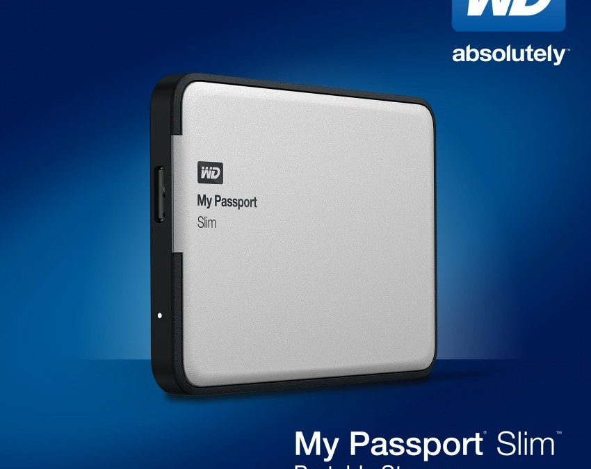 WD My Passport Slim available by November 2013