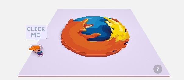 You can play a mini game in Firefox!