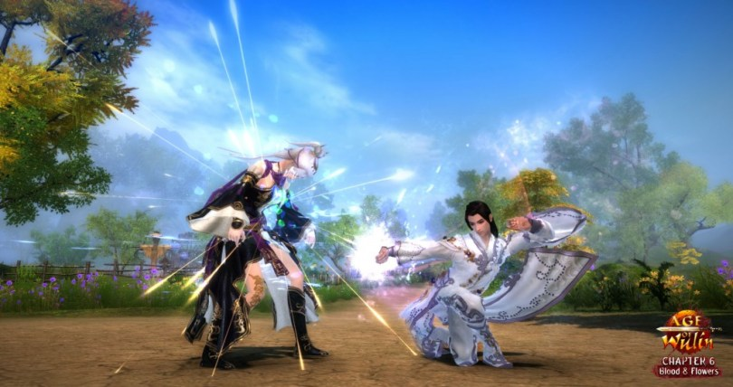 Age of Wulin - Chapter 6 - Blood & Flowers - Flower Prince