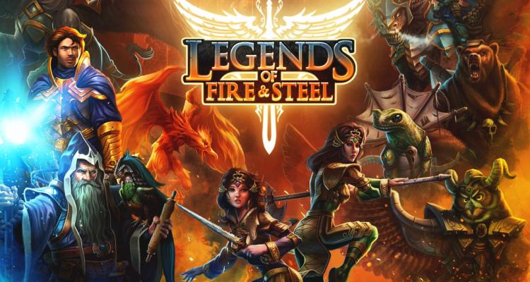 Legends of Fire & Steel now on Kickstarter