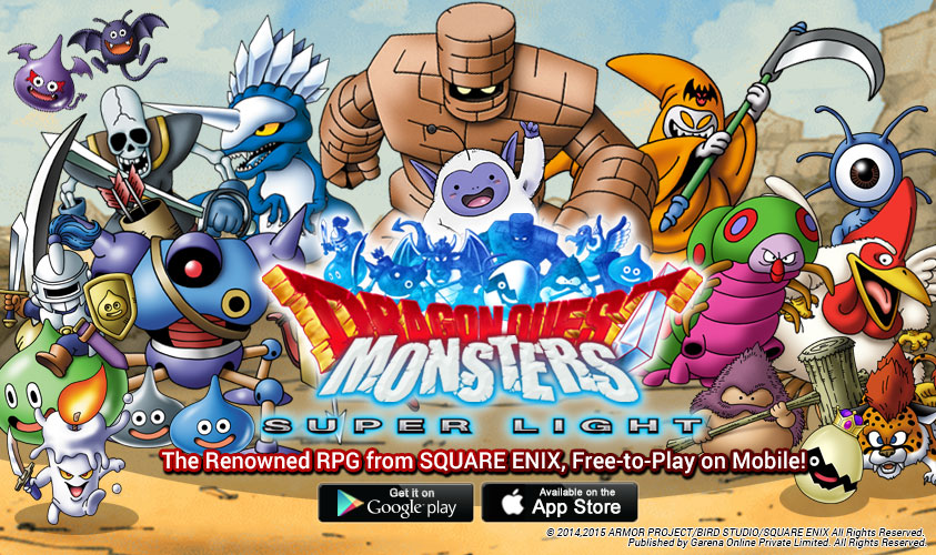 Garena Partners with Square Enix to Launch Dragon Quest