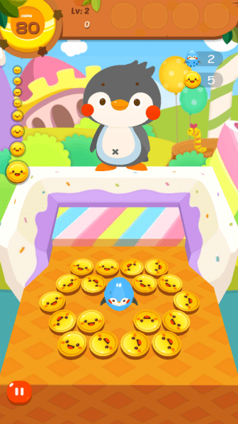 Did I mention that you also get to see a penguin dance while playing?