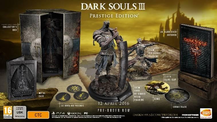 dark souls 3 prestige ed