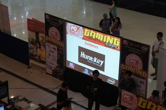 Huntkey as a Sponsor of the Event