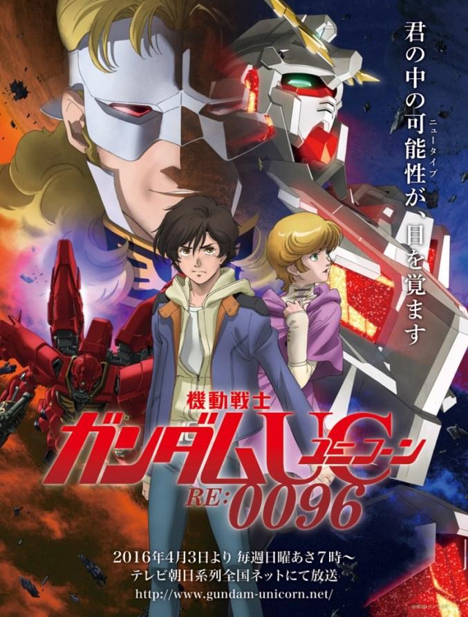 gundam uc anime poster