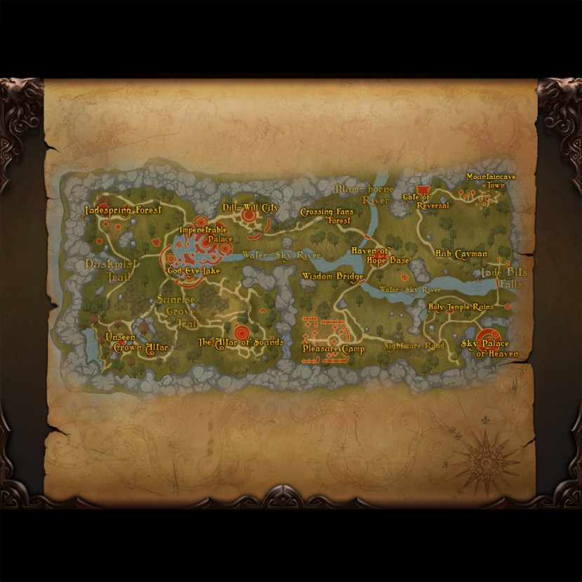 7 Map of Celestial Vale