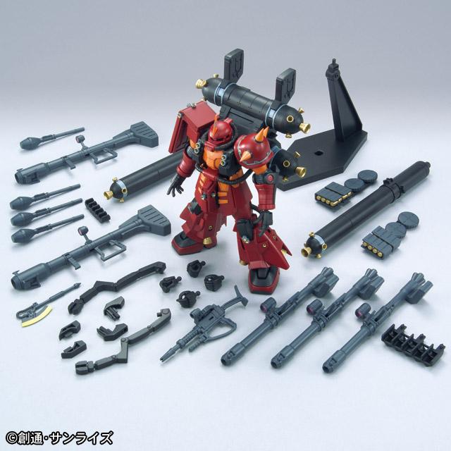 HG 1-144 High Mobility Type Psycho Zaku Gundam Thunderbolt Anime ver. 3