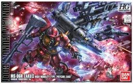 HG 1-144 High Mobility Type Psycho Zaku Gundam Thunderbolt Anime ver. Box