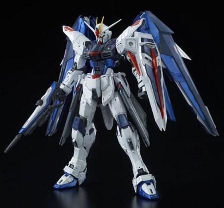 P-Bandai-MG 1-100 Freedom Gundam Ver. 2.0 Full Burst Mode Special Coating ver. 4