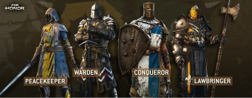 forHonor_Warriors_wip_v1