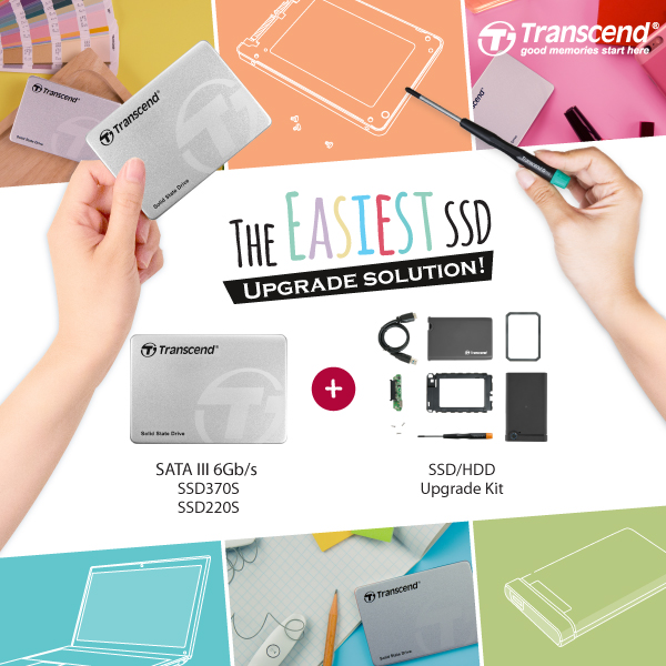 Transcend Introduces Its SSD+ Upgrade Kit – The Easiest SSD Upgrade Solution Ever!