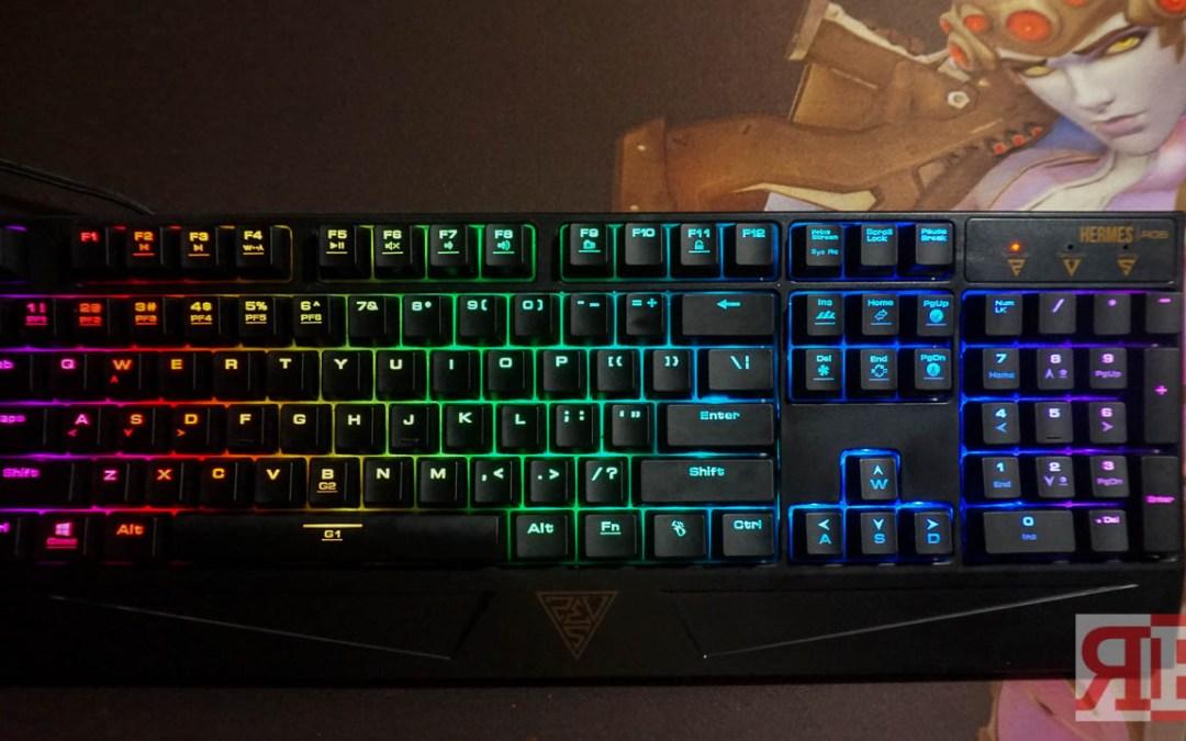 Gamdias Hermes RGB Mechanical Keyboard Review