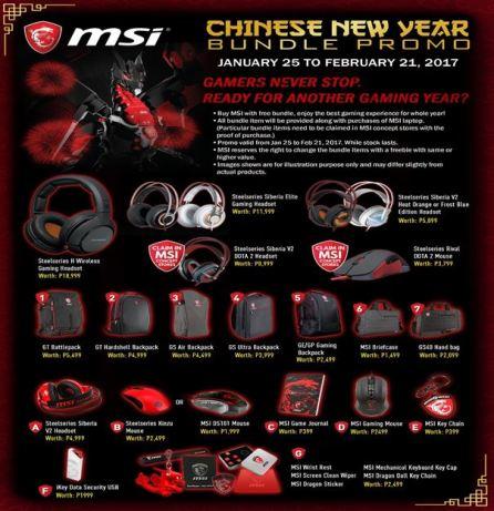 MSI Chnese New Year Bundle Promo Image 1