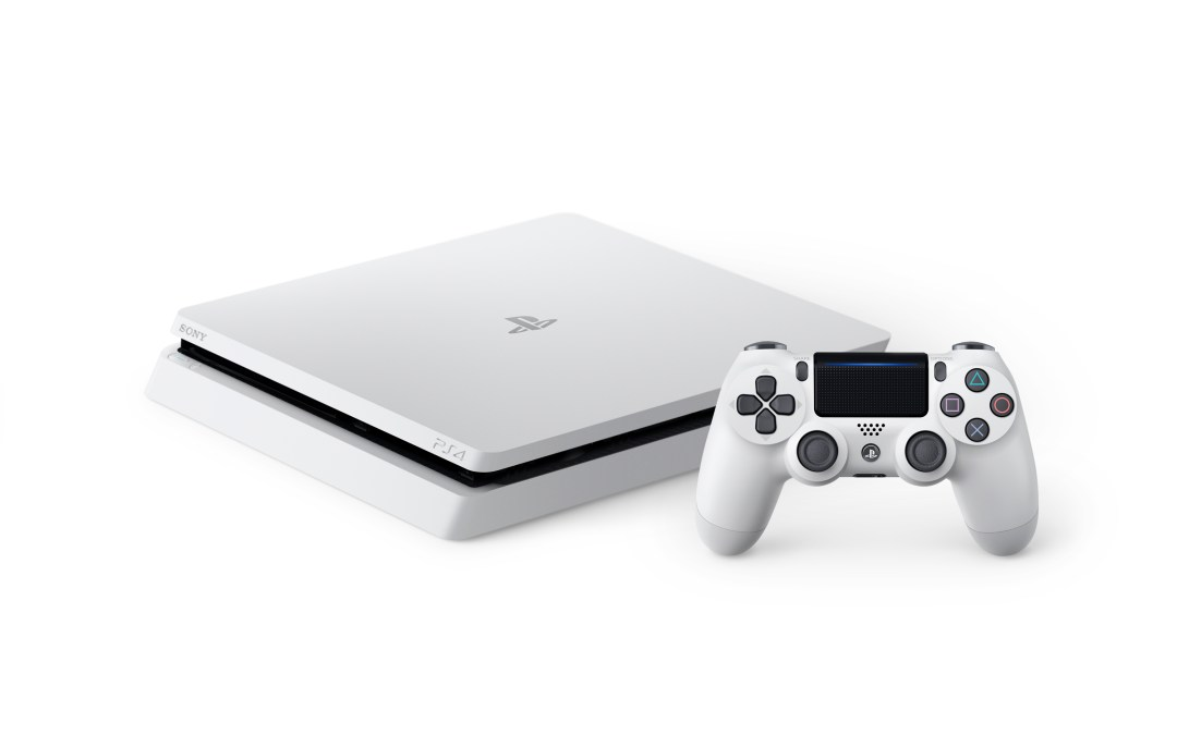 The PlayStation 4 Slim is Getting a Glacier White Variant