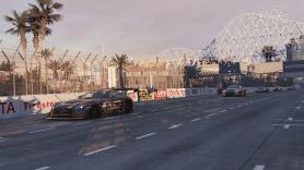 Mercedes AMG GT3 Nissan GT-R GT3 - Long Beach