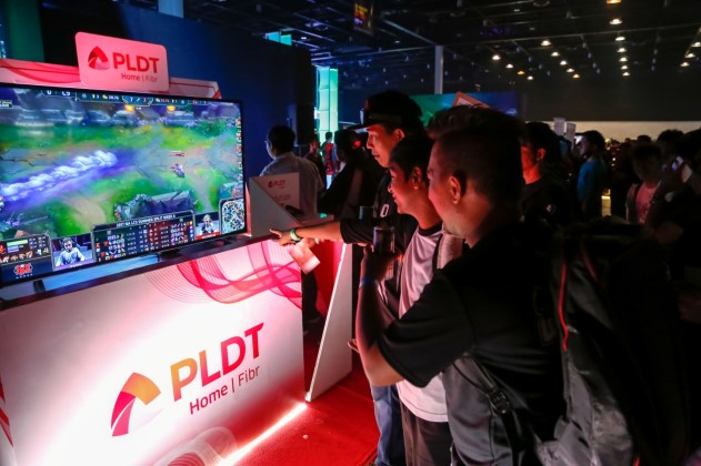 Guests experienced seamless, lag-free gaming firsthand with world-class internet from PLDT Home Fibr